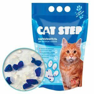 20363005 Cat Step  Наполнитель силикагель 3,62кг*7,6л*4 (НК-006)