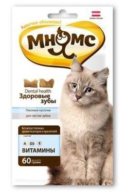 """Лак-во """"Мнямс"""" Дентал лакомство для кошек"""