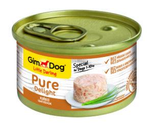 GimDog Pure Delight консервы для собак из цыпленка