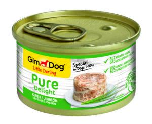 GimDog Pure Delight консервы для собак из цыпленка с ягненком