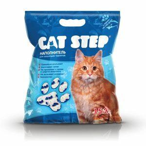 20363004 Cat Step  Наполнитель силикагель 7,24кг 15,2л*3 (НК-018)