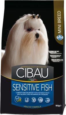 FARMINA CIBAU SENSITIVE д/собак рыба мини 0,8кг*10