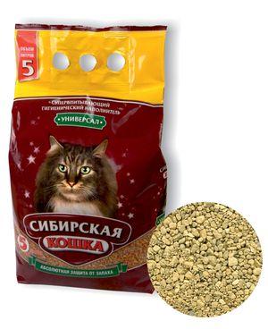 0077/10662 Сибирская Кошка Наполнитель Универсал 5л*4