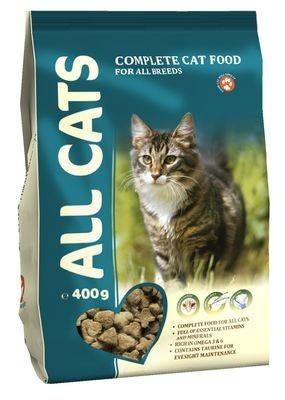 ALL CATS Корм д/кошек 400 гр*16