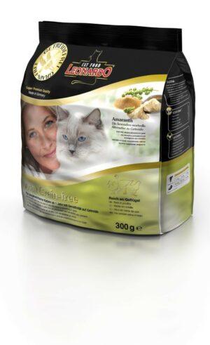 Сухой беззерновой корм Leonardo Adult Poultry GF для взрослых кошек с чувствительным пищеварением с птицей
