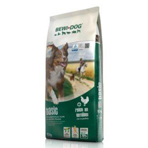 Сухой корм Bewi Dog Basic для взрослых собак с нормальным уровнем активности, не содержит пшеницу