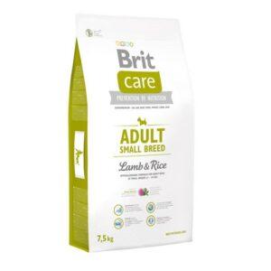 Cухой корм Brit Care Adult Small Breed Lamb & Rice для взрослых собак мелких пород с ягненком и рисом