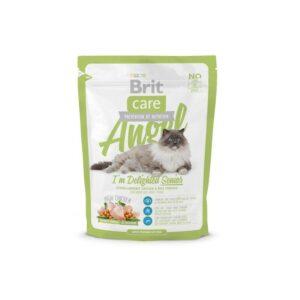 Brit Care Cat Angel Delighted Senior сухой корм для пожилых кошек с курицей