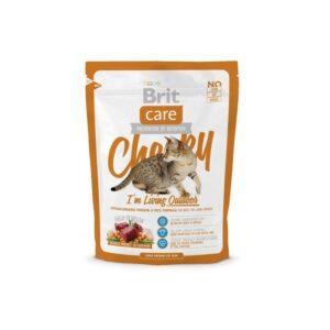 Brit Care Cat Cheeky Outdoor сухой корм для активных взрослых кошек и взрослых кошек уличного содержания с олениной