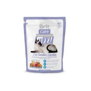 Brit Care Cat Lilly Sensitive Digestion беззерновой корм, для кошек с чувствительным пищеварением с ягненком и лососем