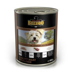 Консервы для собак Belcando Super Premium с отборным мясом и печенью