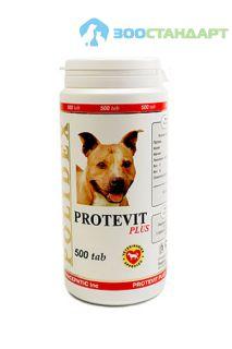0900 POLIDEX Протевит плюс стимулирует рост мышечной массы д/собак 500 таб.*8
