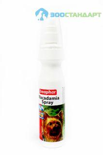 12558 Беафар Спрей c маслом австрал. ореха д/кошек и д/собак  Macadamia Spray, New Bea Vision Spray 150мл*6/24
