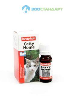 12566 Беафар Средство для приучения кошек к месту Catty Home, 10 мл*6/72