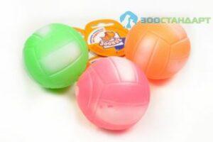 Зооник Игрушка д/собак Мяч волейбольный ф72мм