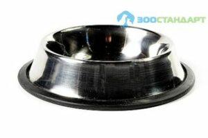1502/М-002000/30261002 ТРИОЛ Миска метал. на резинке 0,25л  *12*144