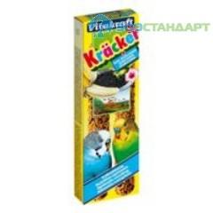 10608 Витакрафт Крекеры д/волнистых попугаев Кунжут+банан 2шт*10