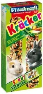 10625 Витакрафт Крекеры  д/кроликов Овощные 2шт*10