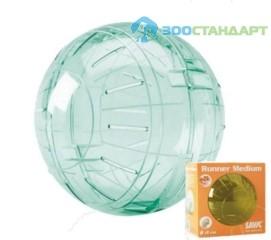 0187 SAVIC Игрушка д/хомяков Шар прозрачный 18см (пластик)