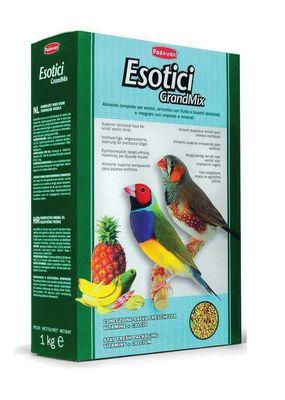 PADOVAN Grandmix Esotici Основной корм д/Экзотических птиц 1кг*12шт