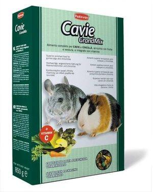 PADOVAN Grandmix Cavie Основной корм д/Морских свинок и Шиншилл 850гр*12шт