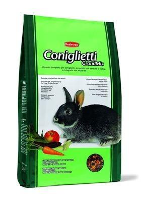 PADOVAN Grandmix Coniglietti Основной корм д/Кроликов 3кг*5шт