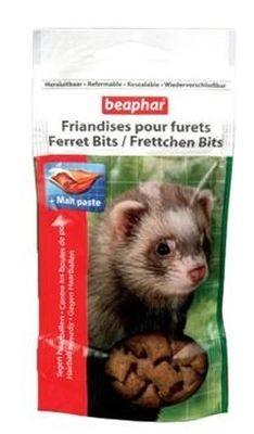 Beaphar Подушечки для хорьков  «Ferret Bits», 35г*