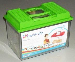 0129 SAVIC Аква-террариум FAUNA BOX 6л с ручкой 27*17*18см*6