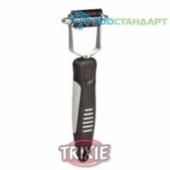 TRIXIE Колтунорез д/кошек очень частый, пластиковая ручка