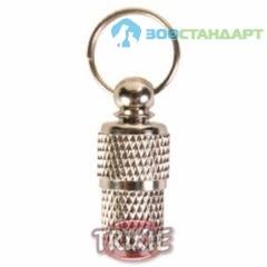 TRIXIE Медальон-адресник д/собак хромированный