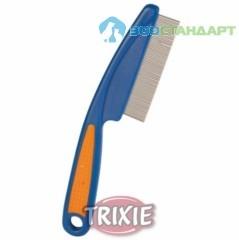 TRIXIE Расческа д/грызунов с пластиковой ручкой