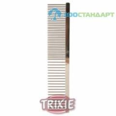TRIXIE Расческа д/собак без ручки, металл (блистер)