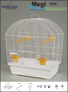 683519/Р051  INTER-ZOO Клетка д/птиц MEGI 430*250*470см О.С.