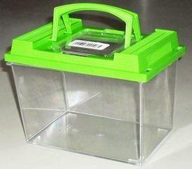 0128 SAVIC Аква-террариум FAUNA BOX 2,6л с ручкой 20*14*14см*12