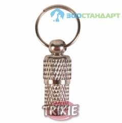 "TRIXIE Медальон-адресник д/кошек ""Серебро"""