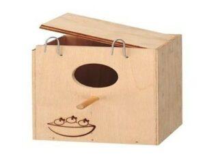 Ферпласт Домик-гнездо NIDO SMALL д/птиц наружный
