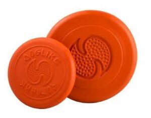 ДОГЛАЙК Летающая тарелка  малая д/собак всех пород (оранжевый)