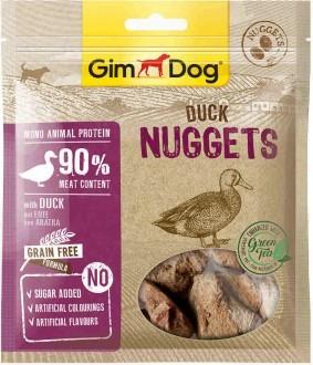 """GimDog дополнительный корм (лакомство) утиный для собак - """"наггетсы"""""""