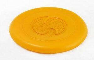ДОГЛАЙК Летающая тарелка большая д/собак всех пород (оранжевый)