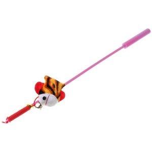 "V.I.Pet Дразнилка-удочка с игрушкой ""рыбка"""