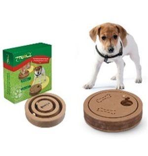 """TT03/32171001 Triol Развивающая игрушка для собак и кошек """"2 в 1"""", d200*40мм*12"""