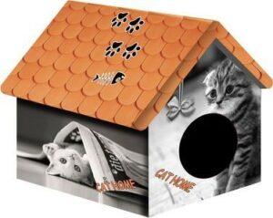 00100/ДМД-1 PERSEILINE ДОМ ДИЗАЙН для животных 33*33*40 Кошка с газетой*10