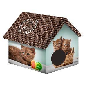 00252/ДМД-1 PERSEILINE ДОМ ДИЗАЙН для животных 33*33*40 Шоколадные котята*10