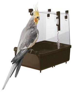 Ферпласт Ванночка  для средних попугаев