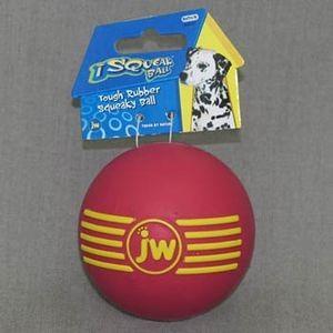 J.W. Игрушка д/собак - Мяч с пищалкой, каучук, средняя iSqueak Ball Md