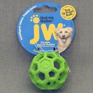 J.W. Игрушка д/собак - Мяч сетчатый, каучук, очень маленькая Hol-ee Roller Dog Toys mini