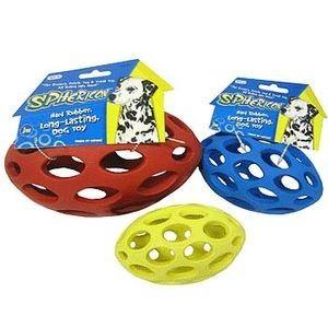 J.W. Игрушка д/собак - Мяч для регби сетчатый, каучук, маленькая Sphericon Dog Toy. small
