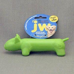 """J.W. Игрушка д/собак-""""Длинная собака"""", суперупругая Мегаласт, резина, средняя Megalast Long Dog Medium"""