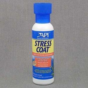 A85B/303085 API Стресс Коат Кондиционер д/декоративных рыб и воды Stress Coat 118 ml
