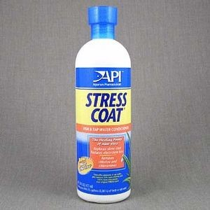A85C/305085 API Стресс Коат Кондиционер д/декоративных рыб и воды Stress Coat 473 ml